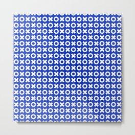 XOXO ((azure)) Metal Print