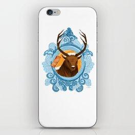 Merry Christmas, deer! iPhone Skin
