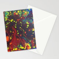 Abstract drops. Stationery Cards