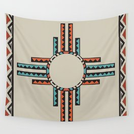 American Native Pattern No. 157 Wall Tapestry