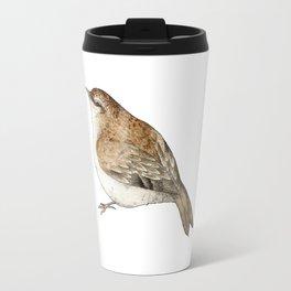 Tree Creeper Bird Illustration Travel Mug