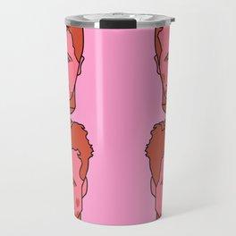 Where is my mind? Pink Travel Mug