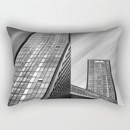 Apartment buildings in New York City Rectangular Pillow