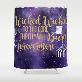 Daughter of the Burning City - Wicked Wicked Shower Curtain
