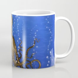Octopus' Lair - colorful Coffee Mug