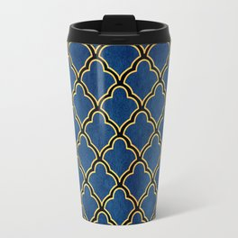 Quatrefoil Travel Mug
