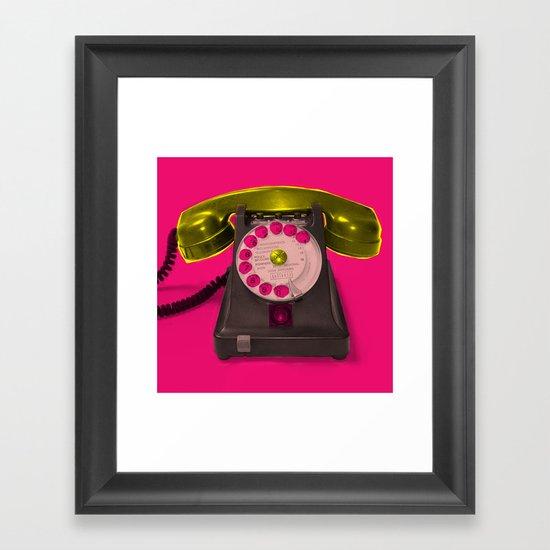 Booty Call Marylin 2 Framed Art Print