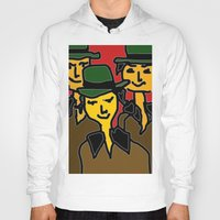 hats Hoodies featuring green hats by sladja