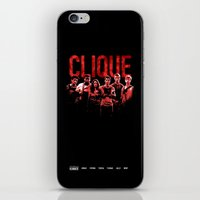 maze runner iPhone & iPod Skins featuring The Maze Runner Clique  by wecallthemblades