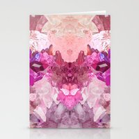 crystal Stationery Cards featuring Crystal by Dasha Grishina