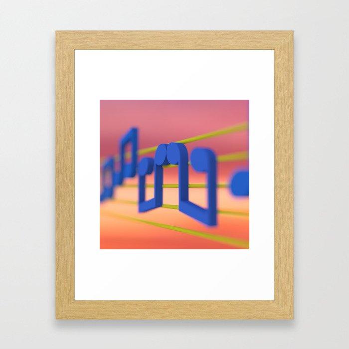 The Music Lovers Framed Art Print