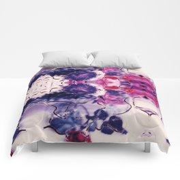 Wine & Flowers Photographic Pattern #2 Comforters