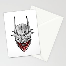 Bloody Bat Laughing Stationery Cards