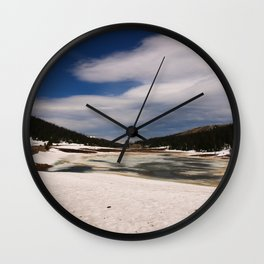 Rocky Mountain N P June 2017 Wall Clock