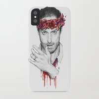 rick grimes iPhone & iPod Cases featuring Rick Grimes by Nikita Jobson