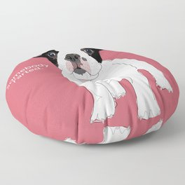 Somebody farted - Frenchie Floor Pillow