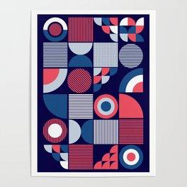 Mod Geo Poster