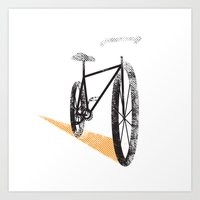 cycle Art Prints featuring Cycle by foureighteen