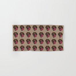 Chocolate Lab Hand & Bath Towel