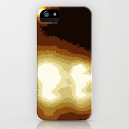 Highway Blues iPhone Case