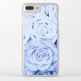 Some people grumble - Blue Rose, Floral Roses Flower Flowers on  #Society6 Clear iPhone Case