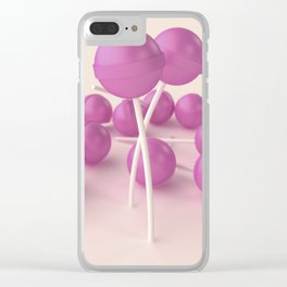 Pink and sweet #3 Clear iPhone Case