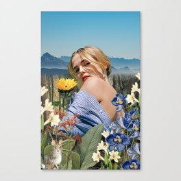 Zoey in Nature Canvas Print