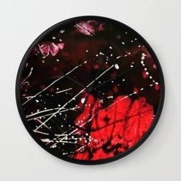 Abstract- Dragon fly Wall Clock