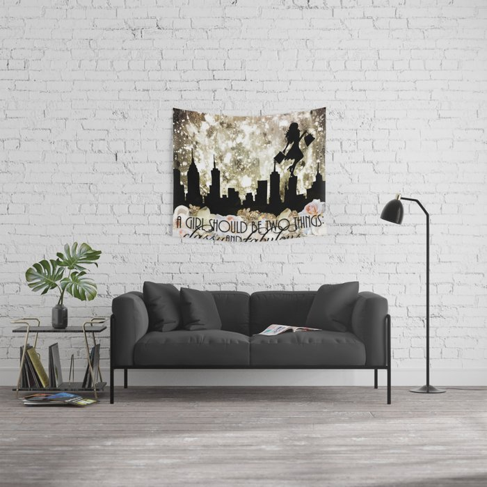 Classy and Fabulous Wall Tapestry