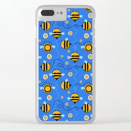 boo(bees) boob bees Clear iPhone Case