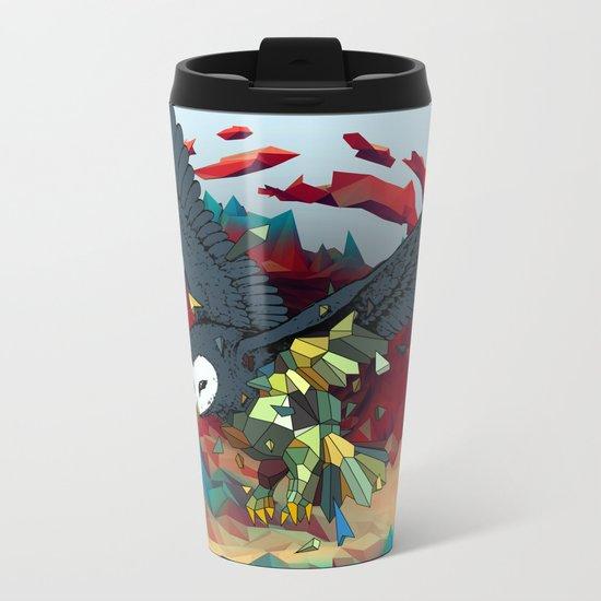 OWL X Metal Travel Mug