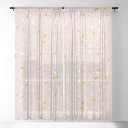 Terrazzo Sheer Curtain