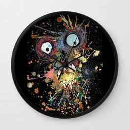 shocked in reverse Wall Clock