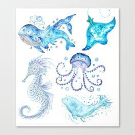 Oceanic Collection Canvas Print