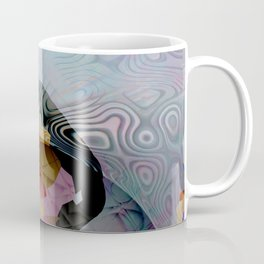 Space Flower Coffee Mug