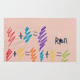 Color Mathematics Rug