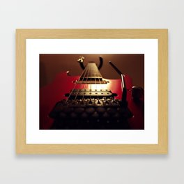 2001 Ibanez RG7420 Custom Framed Art Print