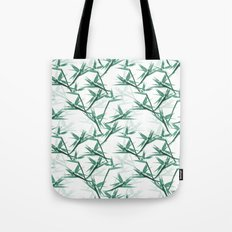 Bird of Paradise - blue Tote Bag