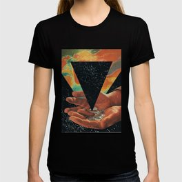 disruption of his world... (Paradise) T-shirt