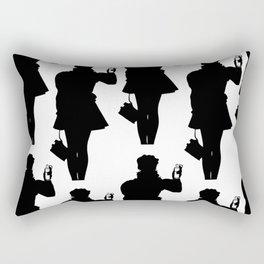 Riot girl Rectangular Pillow