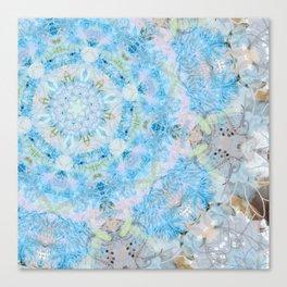 Blue Lace Canvas Print