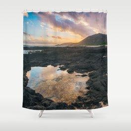 Koko Head Sunset Shower Curtain