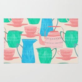 Jugs and Cups Pattern Rug