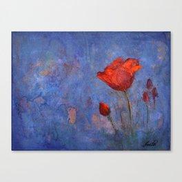 The flower Canvas Print