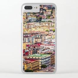 Bella Napoli Clear iPhone Case
