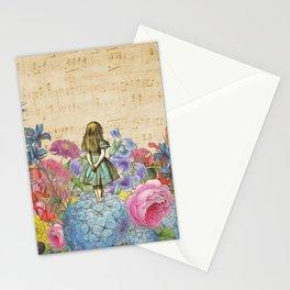 Wonderland Magical Garden - Alice In Wonderland Stationery Cards