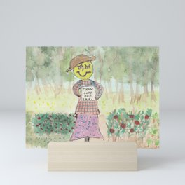 Giving Scarecrow Mini Art Print
