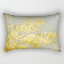 Golden Wattle Rectangular Pillow