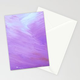 Beautiful Lavender Painting Stationery Cards