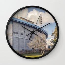 Centenario Stadium Facade, Montevideo - Uruguay Wall Clock